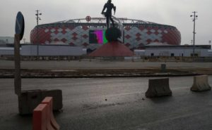 """Огораживаем стадион """"Открытие Арена"""""""